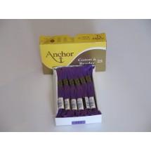 Anchor Cotton a Broder - Purple (111)
