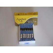 Anchor Cotton a Broder - Blue (130)