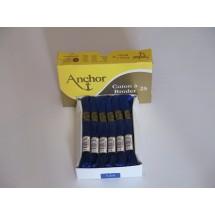 Anchor Cotton a Broder - Royal (134)