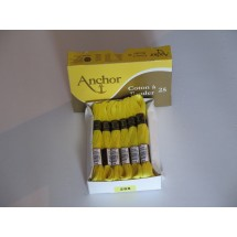 Anchor Cotton a Broder - Yellow (288)