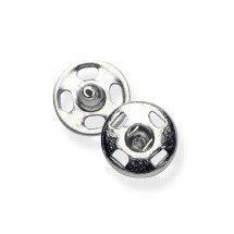 Snap Fasteners - Nickel - 5mm