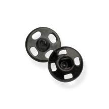 Snap Fasteners - Black - 14mm