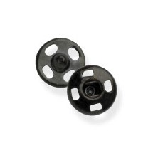 Snap Fasteners - Black - Assorted
