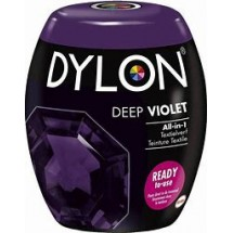 Dylon Machine Dye 350g Deep Violet. Now with added salt!