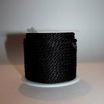Crepe Cord - Black - Roll Price (5700)