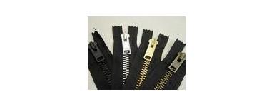 """Metal Zips 6"""" (15cm)"""